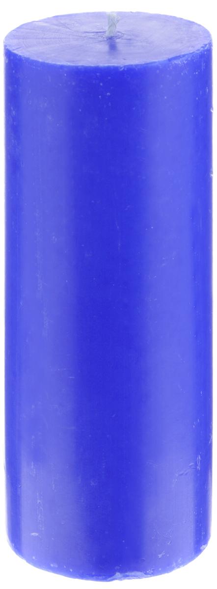 Свеча декоративная Proffi Home Столбик, цвет: синий, высота 15 смPH3443Декоративная свеча Proffi Home Столбик выполнена из парафина и стеарина в классическом стиле. Изделие порадует вас ярким дизайном. Такую свечу можно поставить в любое место, и она станет ярким украшением интерьера. Свеча Proffi Home Столбик создаст незабываемую атмосферу, будь то торжество, романтический вечер или будничный день.