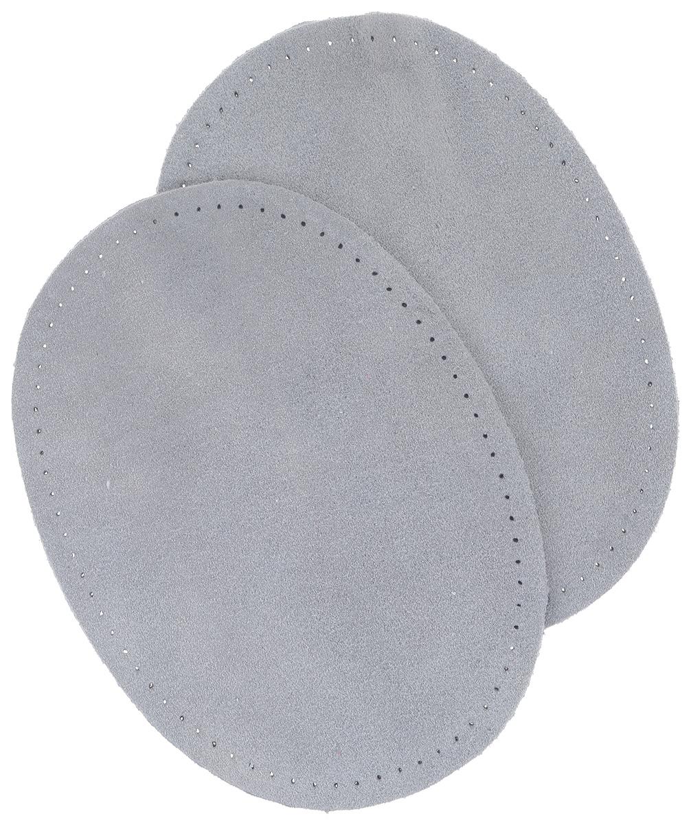 Заплатки пришивные Prym, велюр, цвет: серый, 14 х 10 см, 2 шт611307Заплатки Prym изготовлены из натурального велюра и имеют овальную форму. Предназначены для защиты участков одежды, подвергающихся повышенной нагрузке, а также для индивидуального оформления одежды. Заплатки можно пришить. Размер заплатки: 14 см х 10 см.
