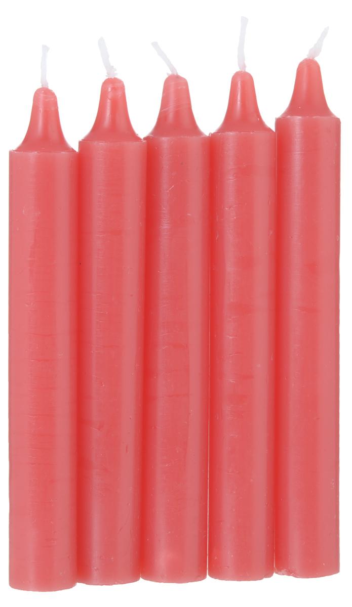 Набор ароматизированных свечей Fancy Fair Клубника, высота 15 см, 5 штR15Набор Fancy Fair Клубника, выполненный из парафина, состоит из пяти декоративных свечей. Изделия порадуют вас своим дизайном и приятным ароматом клубники. Такой набор может стать отличным подарком или дополнить интерьер вашей комнаты.