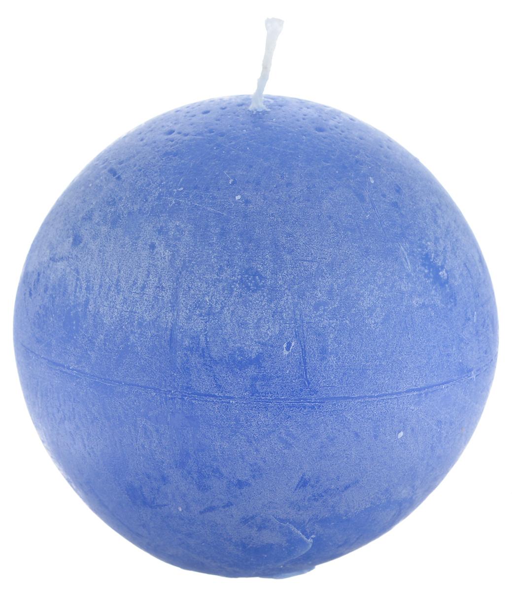 Свеча декоративная Proffi Шар, цвет: синий, диаметр 8,5 смPH3463Шарообразная декоративная свеча Proffi Шар изготовлена из парафина и стеарина. Предназначена для освещения и украшения помещений. Такая свеча может стать отличным подарком или дополнить интерьер вашей спальни или гостиной.