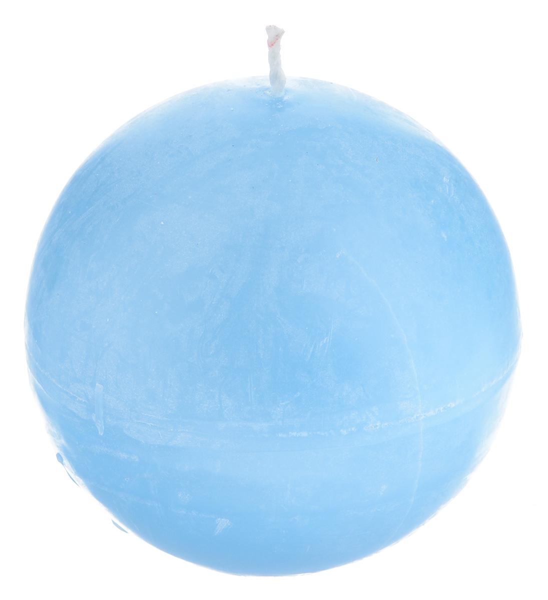 Свеча декоративная Proffi Шар, цвет: голубой, диаметр 7,5 смPH3452Шарообразная декоративная свеча Proffi Шар изготовлена из парафина и стеарина. Предназначена для освещения и украшения помещений. Такая свеча может стать отличным подарком или дополнить интерьер вашей спальни или гостиной.