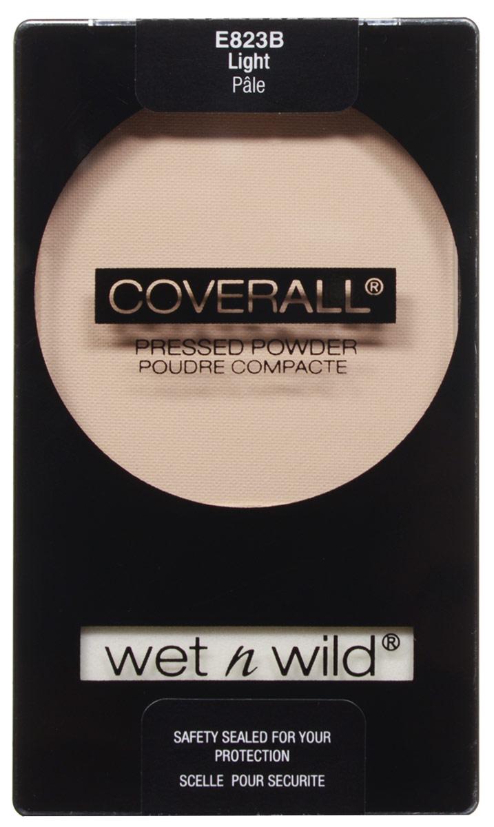Wet n Wild Компактная Пудра Для Лица Coverall Pressed Powder light 8 грE823BДает ровный бархатистый и натуральный оттенок, создавая натуральный макияж, одновременно матируя кожу и придавая ей эффект персиковой кожи. Совет по макияжу: нанесите пудру непосредственно на кожу для натурального бархатистого эффекта или на тональный крем для более законченного макияжа.