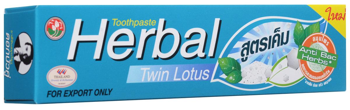 Twin Lotus Зубная паста Herbal Plus Salt с травами и солью, 90 г8255Растительные зубные пасты Twin Lotus содержат более 96% натуральных ингредиентов, в подтверждение этого – темный цвет пасты, достигнутый благодаря смешиванию разных трав и процессу изготовления с использованием современного оборудования.