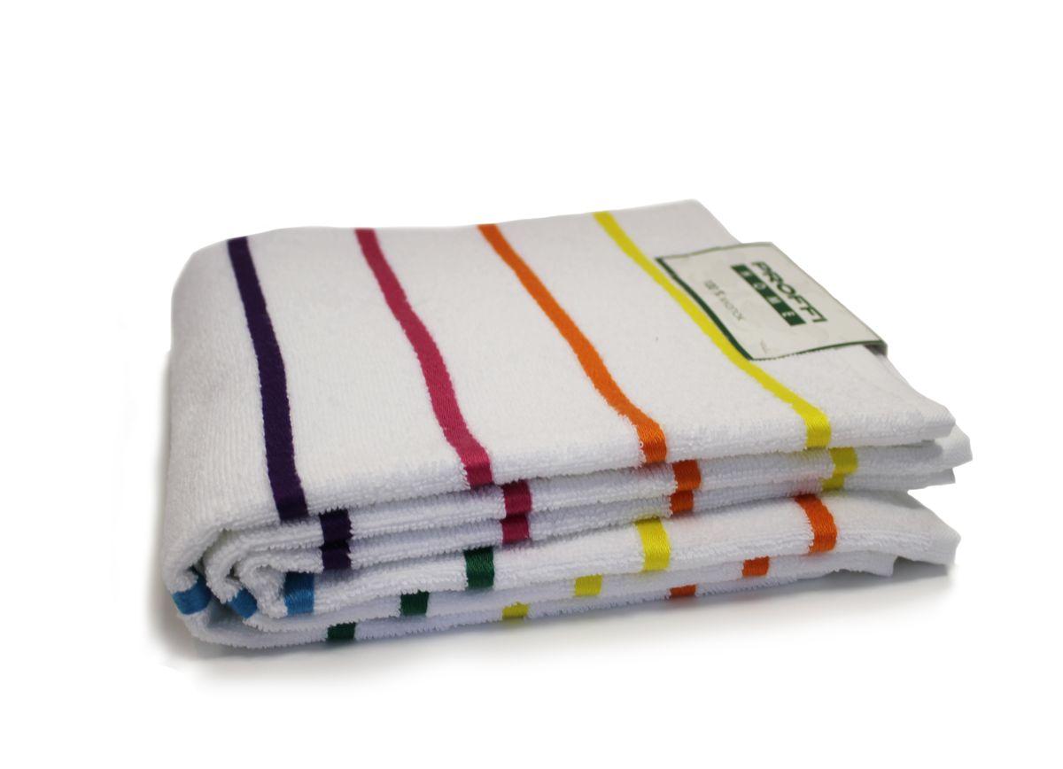 Набор кухонных полотенец Proffi Home Радуга, 50 х 70 см, 3 штPH3733Материал: махра, размер: 50 х 70 см, в комплекте 3 шт