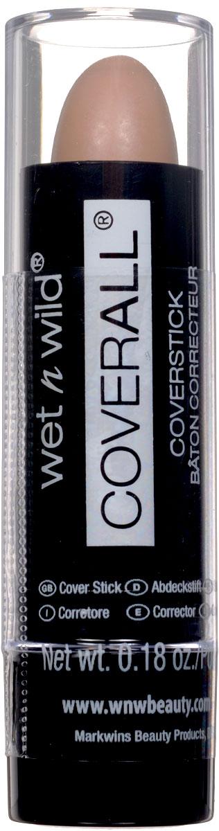 Wet n Wild Корректор Стик Coverall Concealer Stick light medium 5 грE804Маскирует любые недостатки кожи. Аккуратно нанести на лицо с помощью спонжа или кисти.