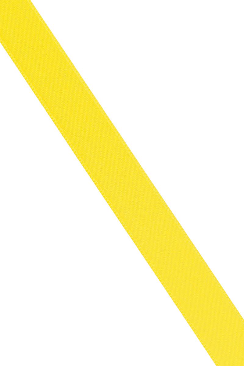 Лента атласная Prym, цвет: желтый, ширина 15 мм, длина 25 м695803_31Атласная лента Prym изготовлена из 100% полиэстера. Область применения атласной ленты весьма широка. Изделие предназначено для оформления цветочных букетов, подарочных коробок, пакетов. Кроме того, она с успехом применяется для художественного оформления витрин, праздничного оформления помещений, изготовления искусственных цветов. Ее также можно использовать для творчества в различных техниках, таких как скрапбукинг, оформление аппликаций, для украшения фотоальбомов, подарков, конвертов, фоторамок, открыток и многого другого. Ширина ленты: 15 мм. Длина ленты: 25 м.