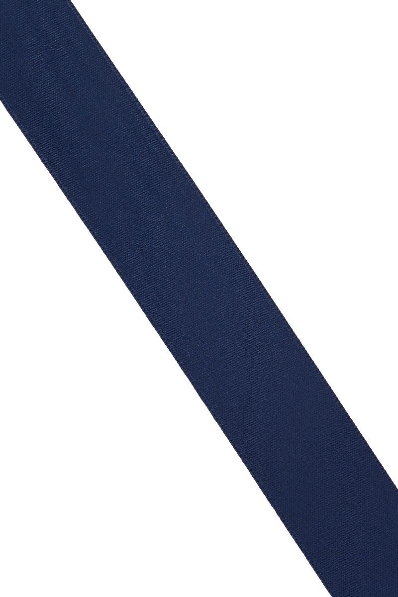 Лента атласная Prym, цвет: темно-синий, ширина 25 мм, длина 25 м695804_57Атласная лента Prym изготовлена из 100% полиэстера. Область применения атласной ленты весьма широка. Изделие предназначено для оформления цветочных букетов, подарочных коробок, пакетов. Кроме того, она с успехом применяется для художественного оформления витрин, праздничного оформления помещений, изготовления искусственных цветов. Ее также можно использовать для творчества в различных техниках, таких как скрапбукинг, оформление аппликаций, для украшения фотоальбомов, подарков, конвертов, фоторамок, открыток и многого другого. Ширина ленты: 25 мм. Длина ленты: 25 м.