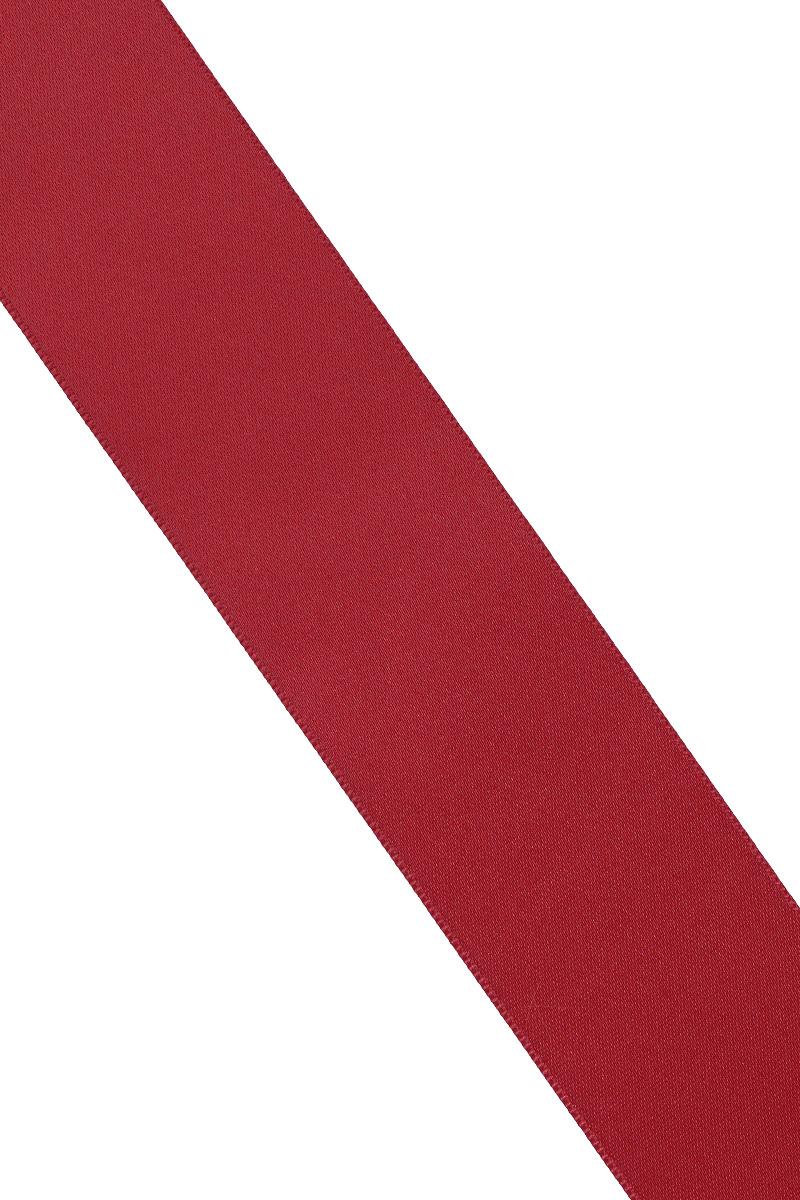 Лента атласная Prym, цвет: бордовый, ширина 38 мм, длина 25 м695806_75Атласная лента Prym изготовлена из 100% полиэстера. Область применения атласной ленты весьма широка. Изделие предназначено для оформления цветочных букетов, подарочных коробок, пакетов. Кроме того, она с успехом применяется для художественного оформления витрин, праздничного оформления помещений, изготовления искусственных цветов. Ее также можно использовать для творчества в различных техниках, таких как скрапбукинг, оформление аппликаций, для украшения фотоальбомов, подарков, конвертов, фоторамок, открыток и многого другого. Ширина ленты: 38 мм. Длина ленты: 25 м.