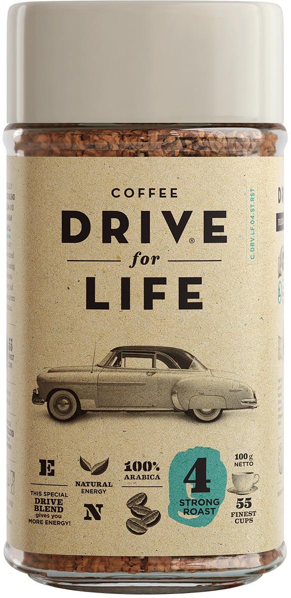 Drive for Life Strong кофе сублимированный, 100 г