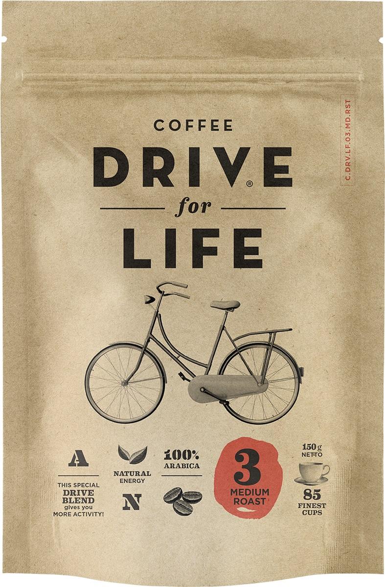 Drive for Life Medium кофе сублимированный, 150 гУПП00004245Кофе натуральный растворимый сублимированный Drive for Life Medium - специально подобранные сорта Бразильской и Колумбийской Арабики, при обжарки которых вырабатывается натуральный кофеин высокого качества. Улучшает внимание, память и обеспечивает энергией на длительное время. Вкус сбалансированный, послевкусие мягкое.