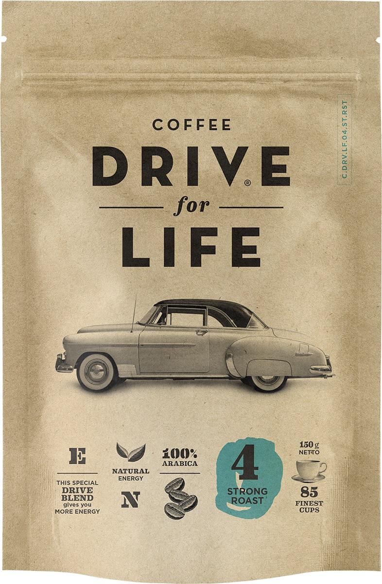 Drive for Life Strong кофе сублимированный, 150 гУПП00004246Кофе натуральный растворимый сублимированный Drive for Life Strong - специально подобранные сорта Бразильской и Колумбийской Арабики, при обжарки которых вырабатывается натуральный кофеин высокого качества. Улучшает внимание, память и обеспечивает энергией на длительное время. Вкус крепкий, послевкусие мягкое.