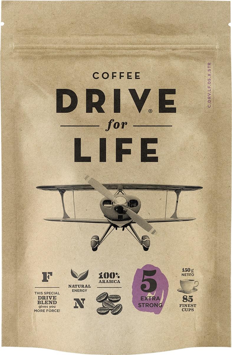 Drive for Life Extra Strong кофе сублимированный, 150 гУПП00004247Кофе натуральный растворимый сублимированный Drive for Life Extra Strong - специально подобранные сорта Бразильской и Колумбийской Арабики, при обжарки которых вырабатывается натуральный кофеин высокого качества. Улучшает внимание, память и обеспечивает энергией на длительное время. Вкус крепкий, насыщенный.