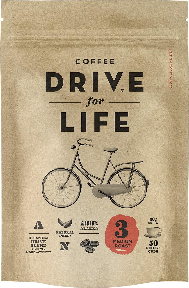 Drive for Life Medium кофе сублимированный, 90 г