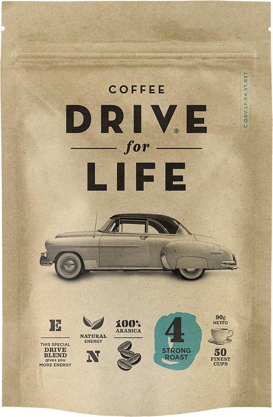 Drive for Life Strong кофе сублимированный, 90 гУПП00004653Кофе натуральный растворимый сублимированный Drive for Life Strong - специально подобранные сорта Бразильской и Колумбийской Арабики, при обжарки которых вырабатывается натуральный кофеин высокого качества. Улучшает внимание, память и обеспечивает энергией на длительное время. Вкус крепкий, послевкусие мягкое.