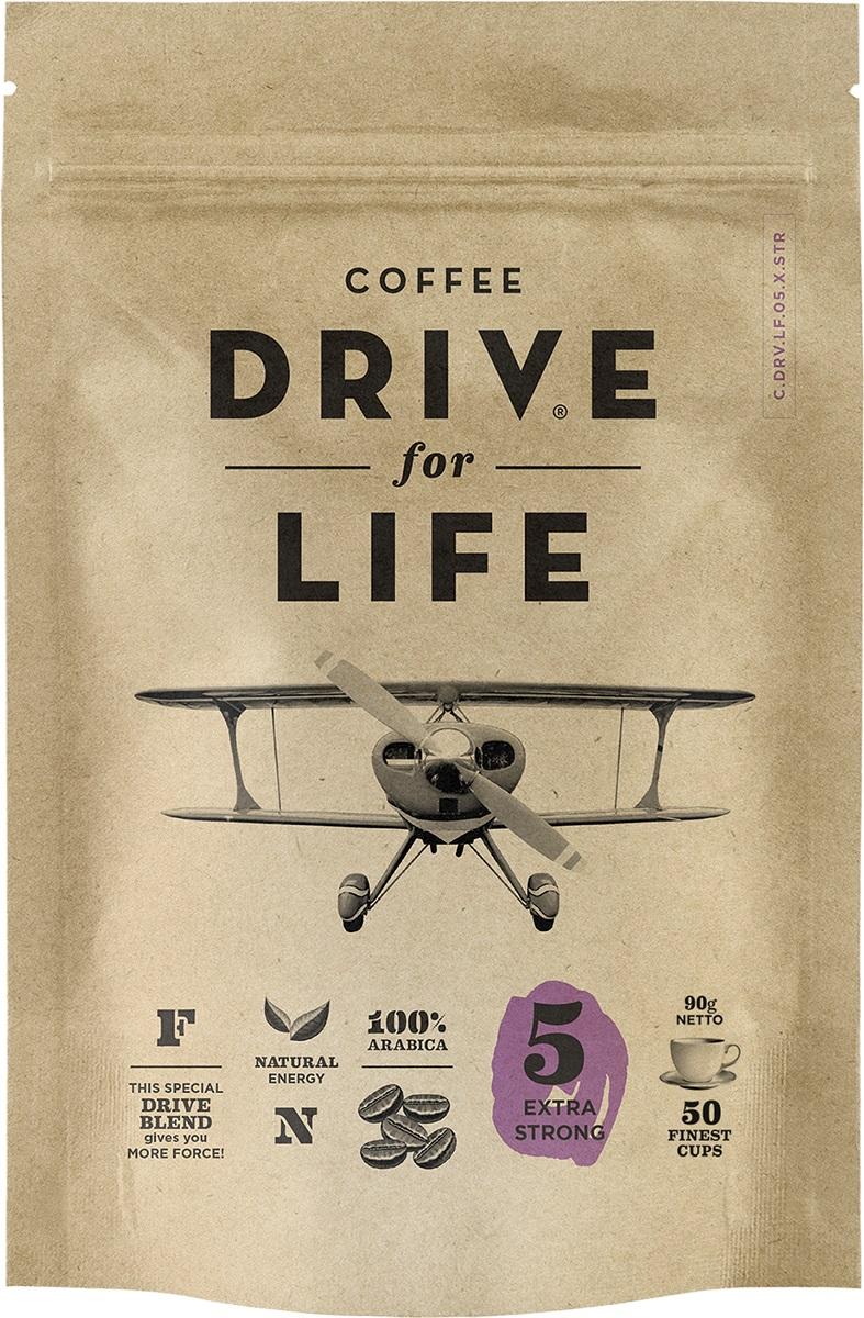 Drive for Life Extra Strong кофе сублимированный, 90 г