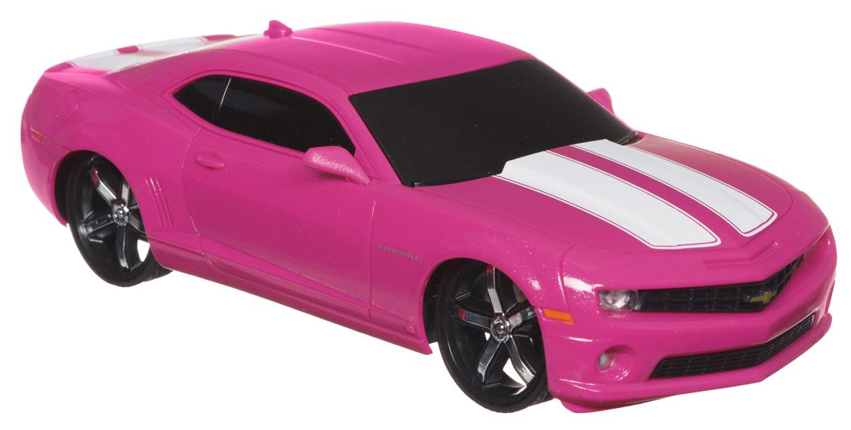 Jada Радиоуправляемая модель Chevy Camaro SS цвет розовый