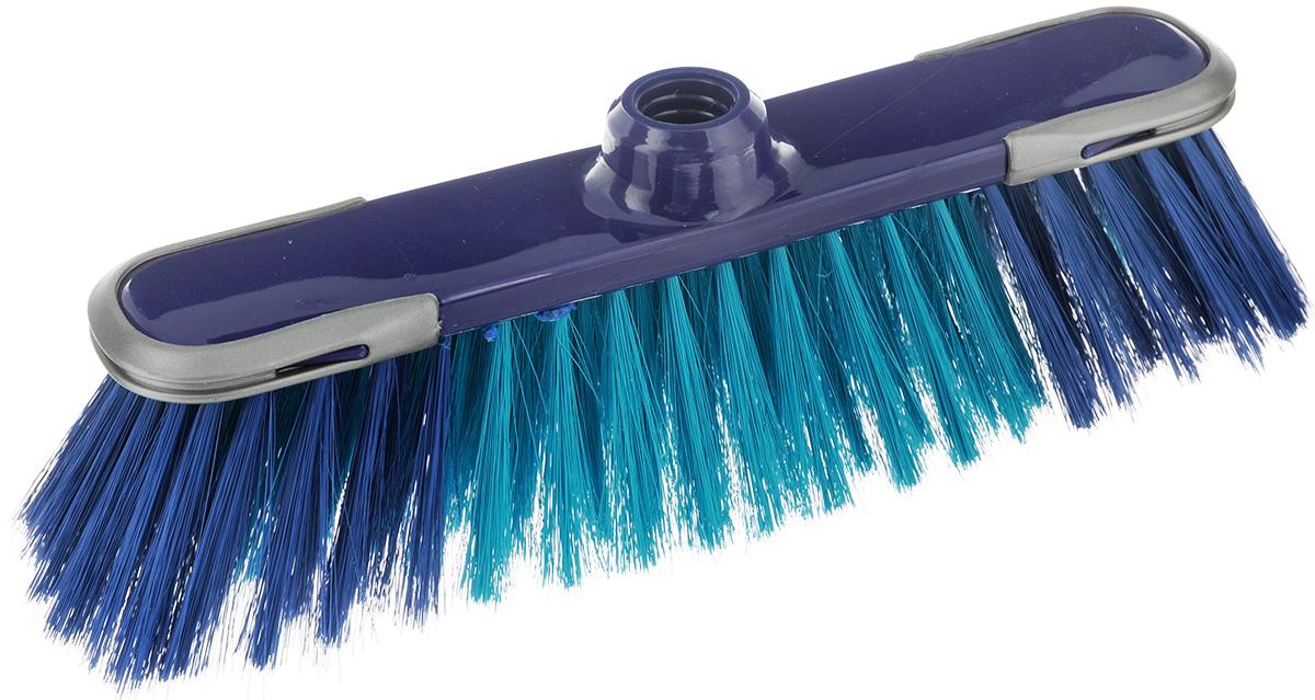 Щетка-насадка для пола York Сабрина, цвет: синий, зеленый5001Щетка-насадка York Сабрина изготовлена из сложных полимеров. Мягкие волокна, расположенные в средней части щетки, идеально очистят от пыли, песка и золы. Система анти-авария предотвращает повреждения на стенах и мебели. Изделие оснащено универсальной резьбой, которая подходит ко всем видам ручек. Размер щетки: 32 х 8 х 10 см. Длина ворса: 7 см. Диаметр отверстия под ручку: 2,2 см.