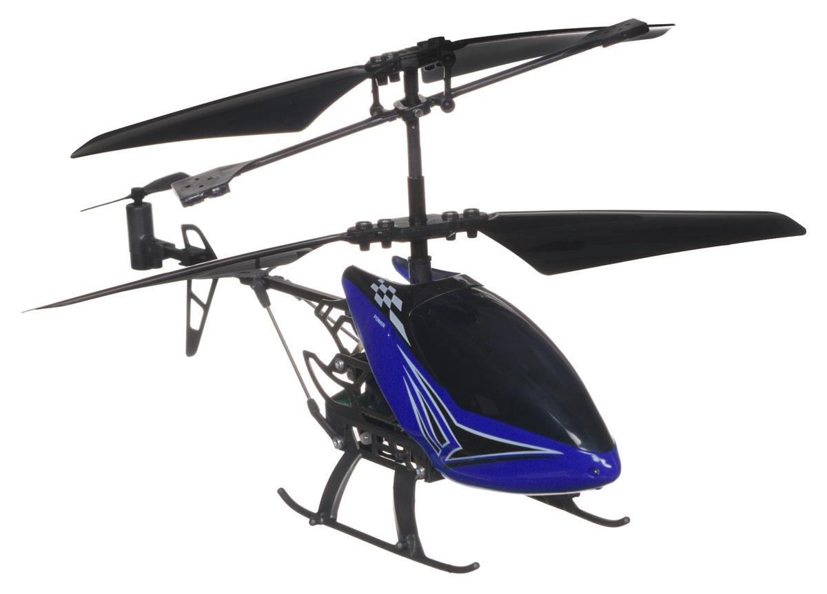 Silverlit Вертолет на радиоуправлении Sky Dragon цвет синий84512_синийРадиоуправляемая модель Silverlit Вертолет Sky Dragon со световыми эффектами привлечет внимание не только ребенка, но и взрослого, и станет отличным подарком любителю воздушной техники. Вертолет оснащен уникальной системой винта, позволяющей вертолету плавно подниматься, а также встроенным гироскопом, который поможет скорректировать и устранить нежелательные вращения корпуса вертолета, благодаря чему сохранится высокая устойчивость полета. Каркас вертолета выполнен из пластика с использованием металла. Вертолет имеет трехканальное дистанционное управление, с помощью пульта управления можно менять скорость полета, а также проделывать фигуры высшего пилотажа. Модель вертолета идеально подходит для игры как внутри помещения, так и на улице. Зарядка аккумулятора осуществляется от пульта управления. Каждый полет вертолета будет максимально комфортным и принесет вам яркие впечатления! Вертолет работает от встроенного аккумулятора. ...
