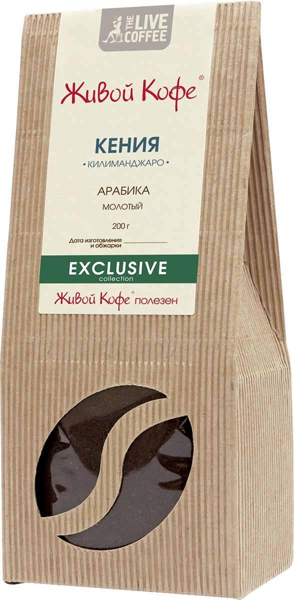 Живой Кофе Кения Килиманджаро кофе молотый, 200 г.00000000700Лучшим кенийским кофе считается тот, который выращен в условиях высокогорья на склонах горы Килиманджаро. Обычно кофейные деревья растут на высоте 1,3-2 км над уровнем моря. Урожай кофе Кения Килиманджаро собирается два раза в год в шесть-семь приёмов, чтобы зёрна были в меру зрелые. Весь кенийский кофе (в том числе кофе Кения Килиманджаро) закупает Кенийский совет по кофе, который классифицирует зёрна и следит за их высоким качеством. Из всего кофе, что выращивается в Кении, одним из лучших считается кофе Кения Килиманджаро. Кенийский кофе некоторым кофеманам может напомнить некоторые сорта кофе колумбийского. Кенийский кофе Кения Килиманджаро отличается полным, насыщенным сбалансированным настоем. Его вкус - это изумительный букет ягодных, лимонных и апельсиновых оттенков, с легкой пряностью. Истинные ценители любят кенийский кофе именно за его гармоничный вкус.