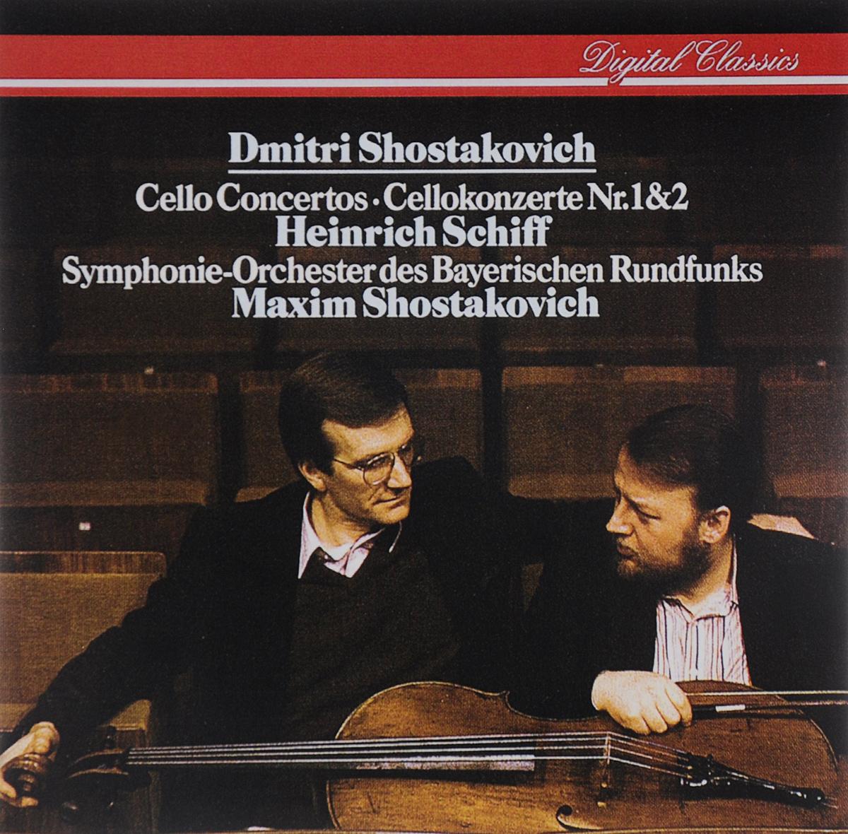 Heinrich Schiff. Maxim Shostakovich. Dmitri Shostakovich. Cello Concertos Nr. 1 & 2