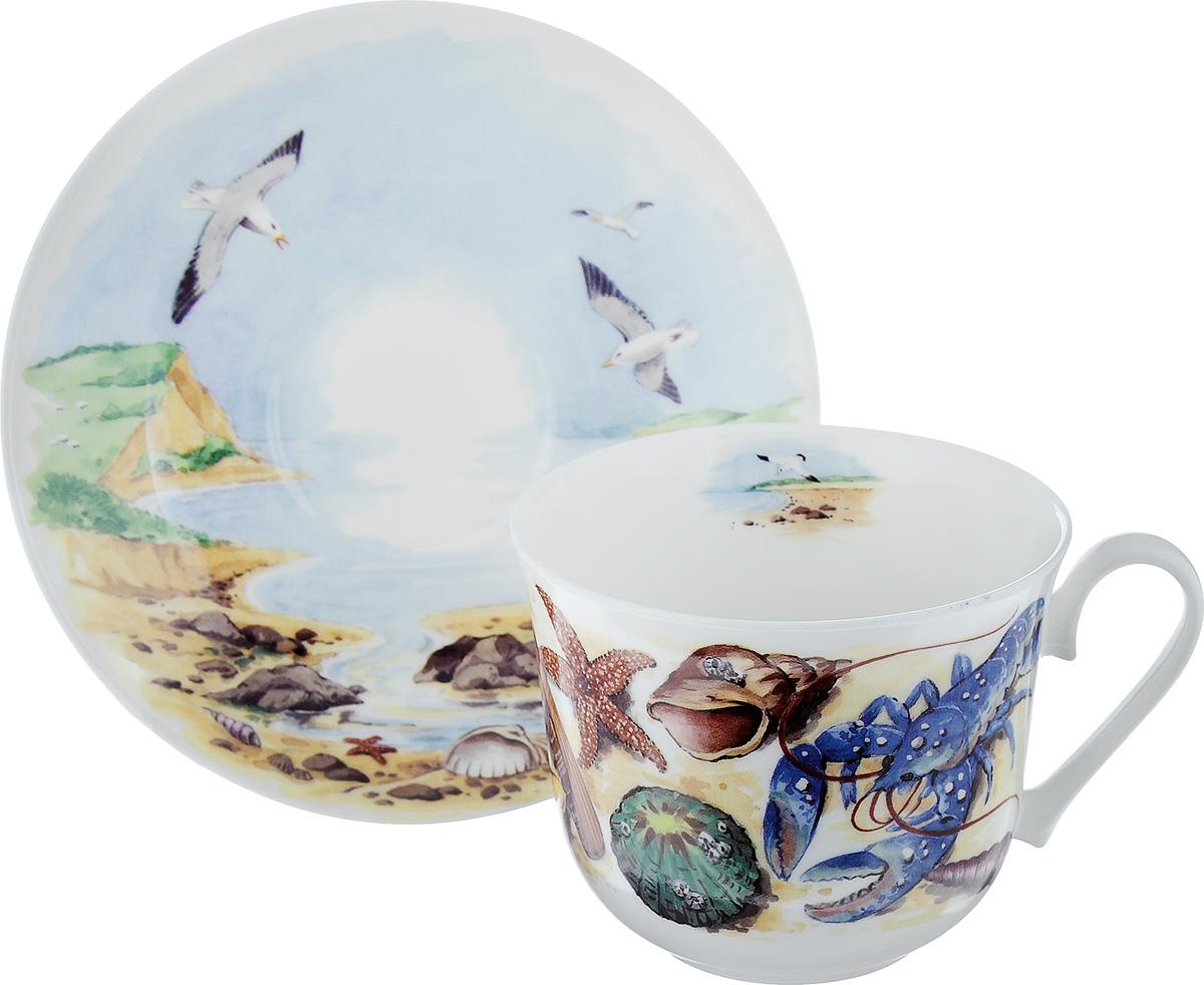 Чайная пара Roy Kirkham Морское побережье, 2 предмета