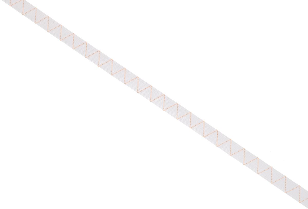 Лента эластичная Prym, стандартная, цвет: белый, ширина 1,2 см, длина 25 м313096Стандартная лента Prym - это плетеная эластичная лента с фирменным золотистым зигзагом, которая при растяжении сужается, а резиновые нити здесь расположены равномерно. Выполнена из полиэстера (70%) и эластомера (30%). Длина: 25 м. Ширина: 1,2 см.