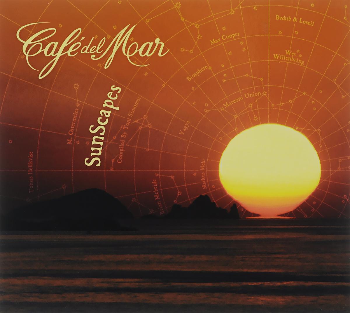 Cafe Del Mar. SunScapes 2015 Audio CD