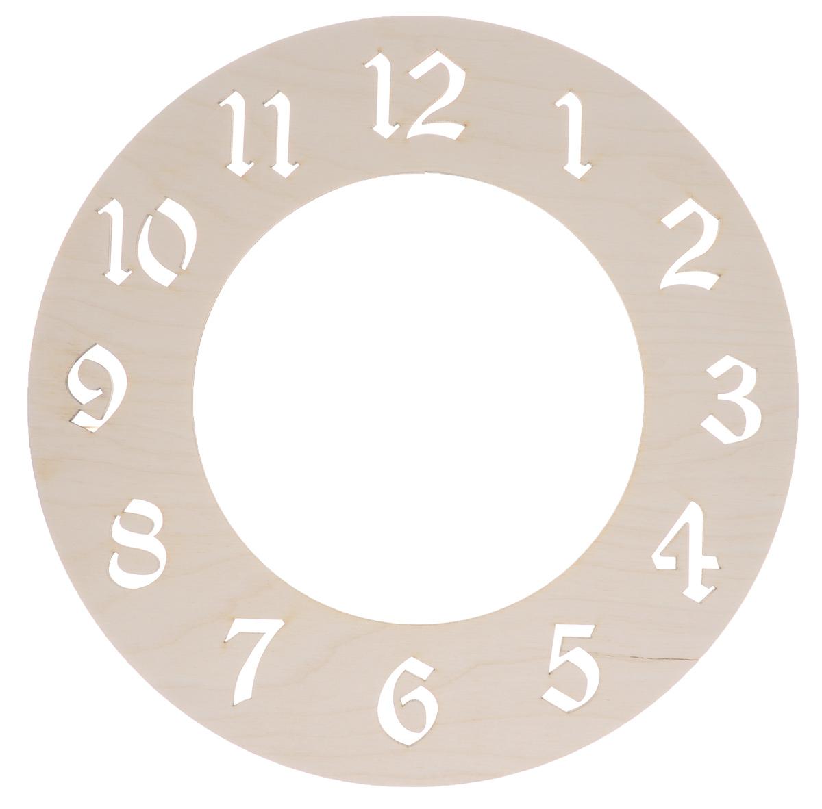 Деревянная заготовка Астра Циферблат. Арабский, диаметр 24 см692263Заготовка Астра Циферблат. Арабский изготовлена из дерева. Изделие станет хорошим объектом для вашего творчества и занятий декупажем. А присоединив к украшенной заготовке часовой механизм у вас получатся оригинальные часы. Заготовка, раскрашенная красками, будет прекрасным украшением интерьера или отличным подарком. Часовой механизм в комплект не входит.
