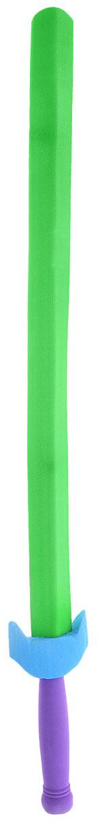 Safsof Китайский меч цвет зеленыйSD-32(C)_ зеленыйКитайский меч Safsof прекрасно подойдет для активных игр или может стать дополнением к маскарадному костюму. Меч изготовлен из вспененной резины, что не позволит детям поранить друг друга. Каждый мальчик хотя бы раз мечтал стать благородным рыцарем и борцом за справедливость. С китайским мечом это возможно. Фантазия ребенка перенесет его в мир средневековья. Можно организовать посвящение в рыцари, устроить настоящий рыцарский турнир или сразиться за сердце прекрасной дамы, а можно уничтожить невиданное чудовище и спасти целый город! Порадуйте своего ребенка таким необычным подарком!