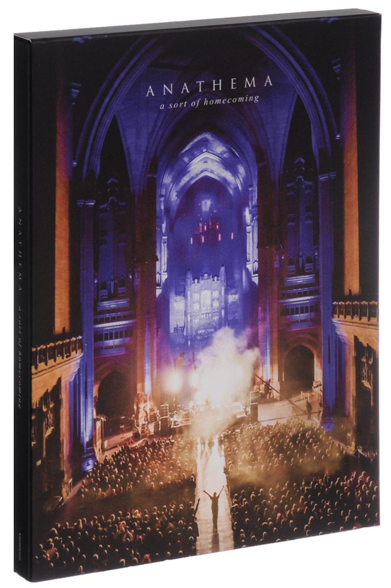 Anathema. A Sort Of Homecoming (2 CD + DVD + Blu-ray)