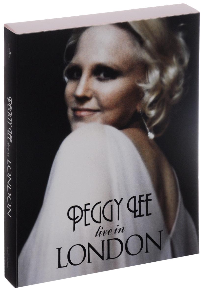 Peggy Lee. Live In London (3 CD + DVD) 2015 4 CD + DVD