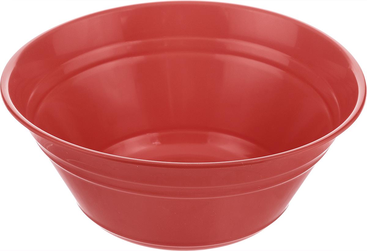 Салатник Berossi Patio, цвет: красный, 2 лИК09446000Салатник Berossi Patio изготовлен из высококачественного пищевого пластика. Такой салатник прекрасно подойдет для сервировки салатов, фруктов, ягод. Прекрасный вариант для дачи и отдыха на природе. Объем: 2 л. Диаметр (по верхнему краю): 22 см. Высота стенки: 9 см.