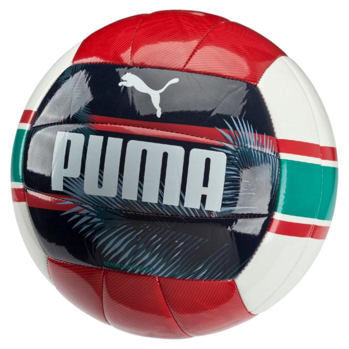 Puma Мяч волейбольный Puma Beach Volleyball Training, цвет: красный, синий. 08260601