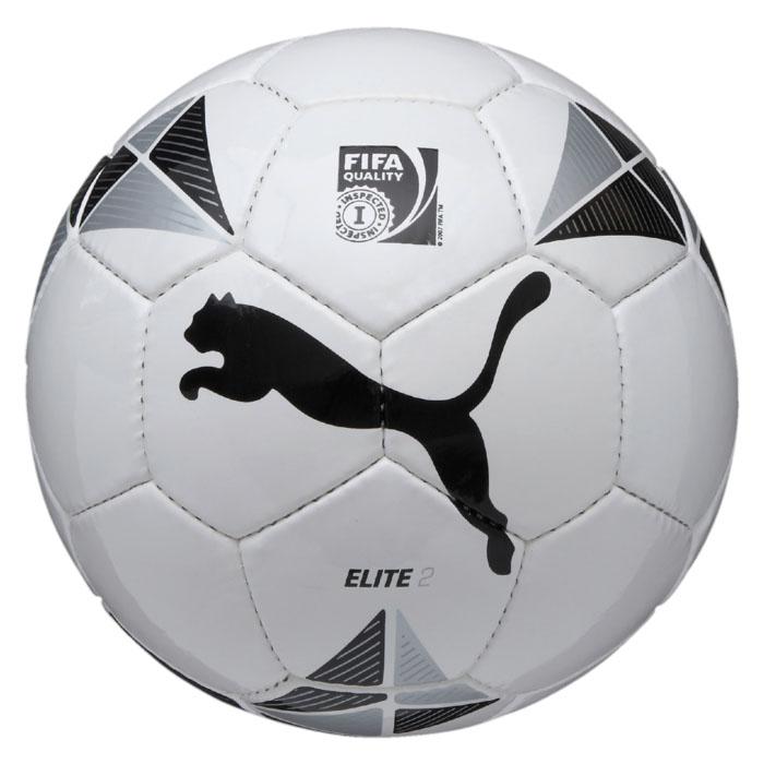 Puma Мяч игровой Puma ELITE 2 Fifa Inspected ball, цвет: белый. 08242901. Размер 5