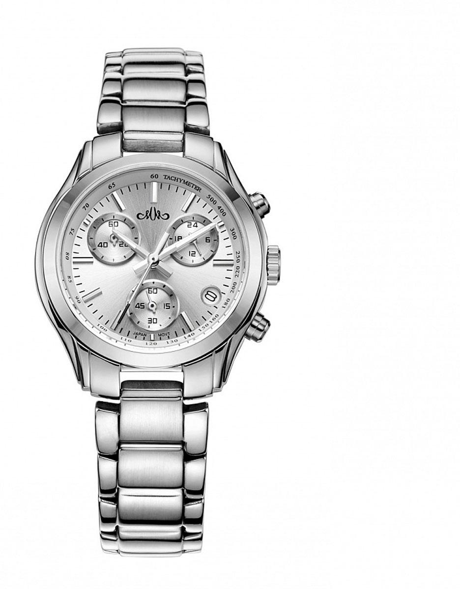Часы мужские наручные Mikhail Moskvin, цвет: серебряный. 1123S0B11123S0B1Стильные мужские часы Mikhail Moskvin изготовлены из высокотехнологичной гипоаллергенной нержавеющей стали и минерального стекла. Циферблат изделия оформлен символикой бренда. Корпус часов оснащен кварцевым механизмом, степенью влагозащиты равной 3 Bar, а также устойчивым к царапинам минеральным стеклом. Дополнительные функции часов: хронометр, индикатор даты, суточное время. На стрелки часов нанесен светящийся состав. Браслет часов застегивается на замок-клипсу, который позволит с легкостью снимать и надевать часы. Часы поставляются в фирменной упаковке. Часы Mikhail Moskvin подчеркнут мужской характер и отменное чувство стиля их обладателя.