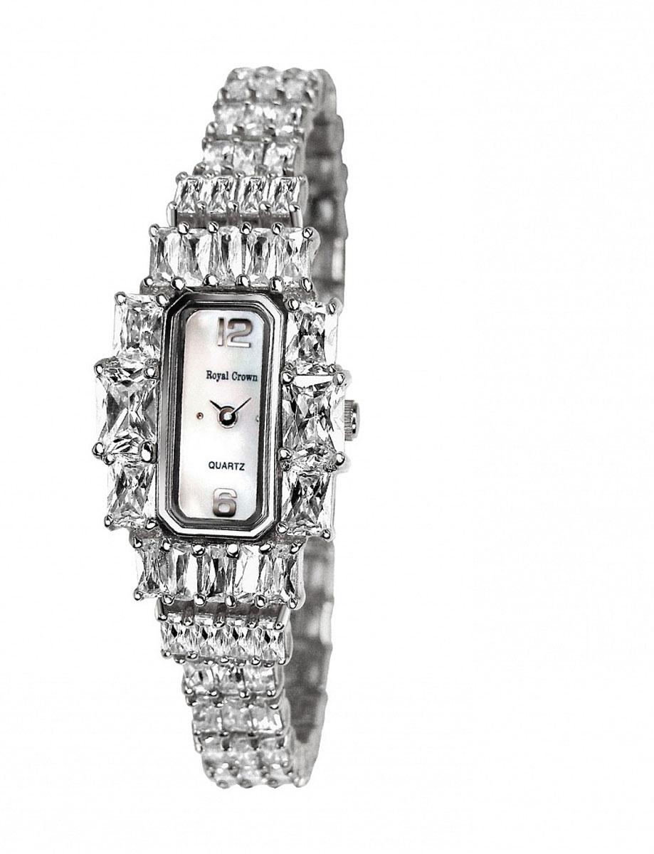 Наручные часы женские Royal Crown, цвет: серебристый. 3612-RDM-53612-RDM-5Royal Crown- воплощение безукоризненного стиля и надежности.Это изысканный итальянский дизайн,высококачественные механизмы.