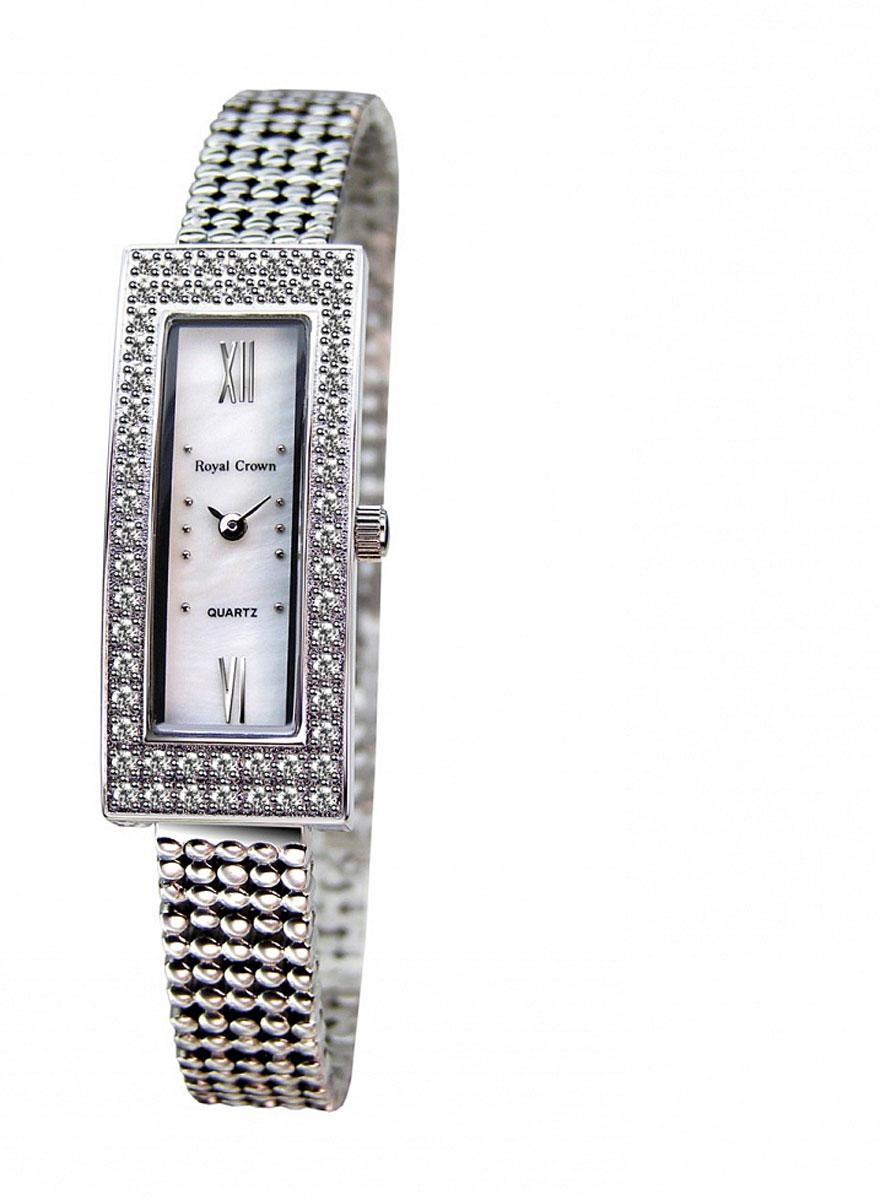 Наручные часы женские Royal Crown, цвет: серебристый. 2311LS-RDM-62311LS-RDM-6Royal Crown- воплощение безукоризненного стиля и надежности.Это изысканный итальянский дизайн,высококачественные механизмы.