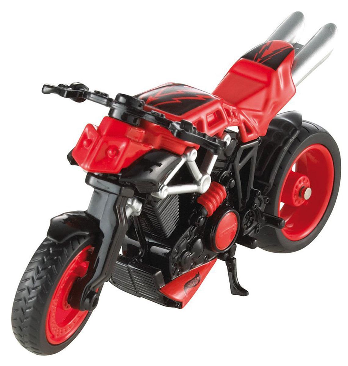 Hot Wheels Мотоцикл X-BladeX4221_X7723Эта коллекционная литая тюнингованная модель реального мотоцикла от Hot Wheels, выполненная в масштабе 1:18, предназначена для самых смелых трюков! Высокая степень детализации и яркий дизайн моделей позволят вам собрать свою эксклюзивную коллекцию знаменитых мотоциклов! В комплект входит один мотоцикл.
