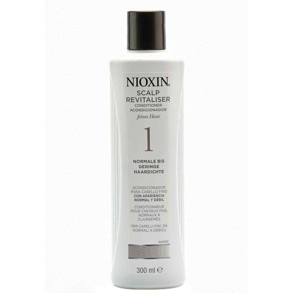 Nioxin Scalp Увлажняющий кондиционер (Система 1) Revitaliser System 1, 300 мл81274128Увлажняющий кондиционер Nioxin Система 1 предназначен для ослабленных и тонких волос. Средство содержит питательные масла и энзимы, которые бережно ухаживают за волосами и кожей головы. Кондиционер от Ниоксин придает волосам шелковистость и смягчает кожу головы.