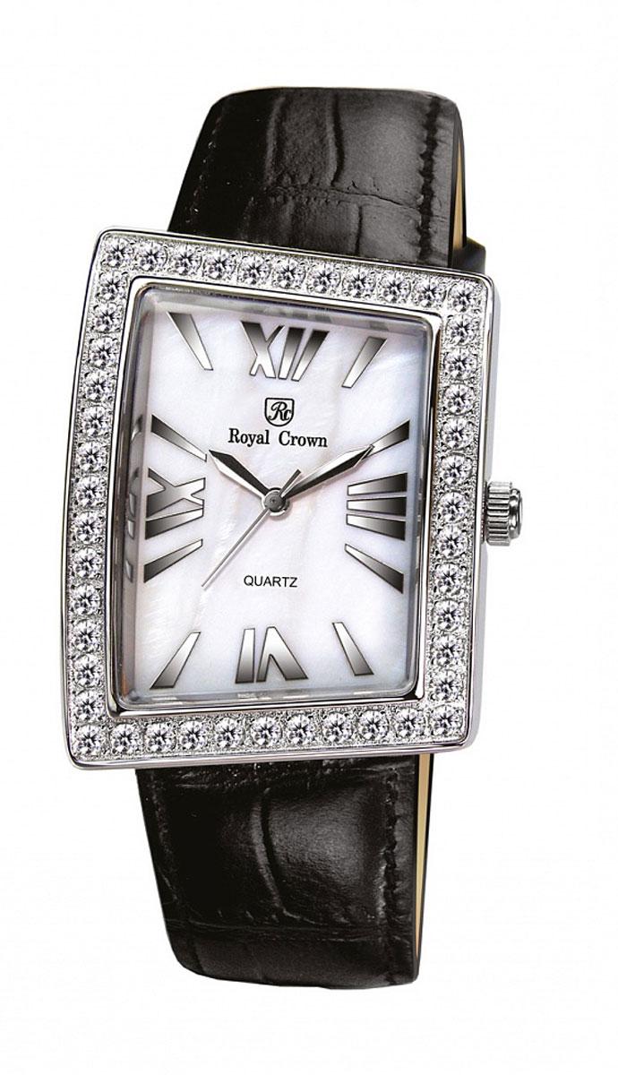 Наручные часы женские Royal Crown, цвет: серебристый. 3782-RDM-13782-RDM-1Royal Crown- воплощение безукоризненного стиля и надежности.Это изысканный итальянский дизайн,высококачественные механизмы.