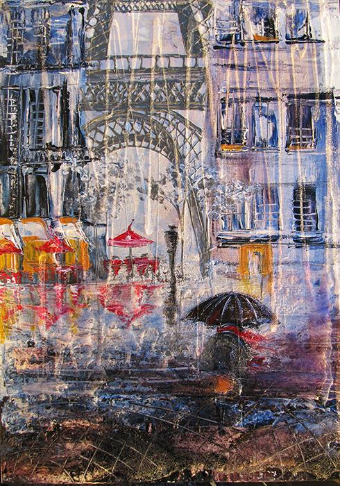 Постер. Картина-принт А в Париже сегодня дождь…ПКПАВПСДРазмер: 30 х 20 см Напечатан на специальной дизайнерской бумаге. Нежный, воздушный и притягательный. Прекрасный подарок для тех, кто уже побывал в Париже. А для тех, кто еще только планирует путешествие в город мечты - возможность окунуться в удивительное парижское настроение. Небольшой формат постеров позволит Вам расположить несколько штук в интерьере.