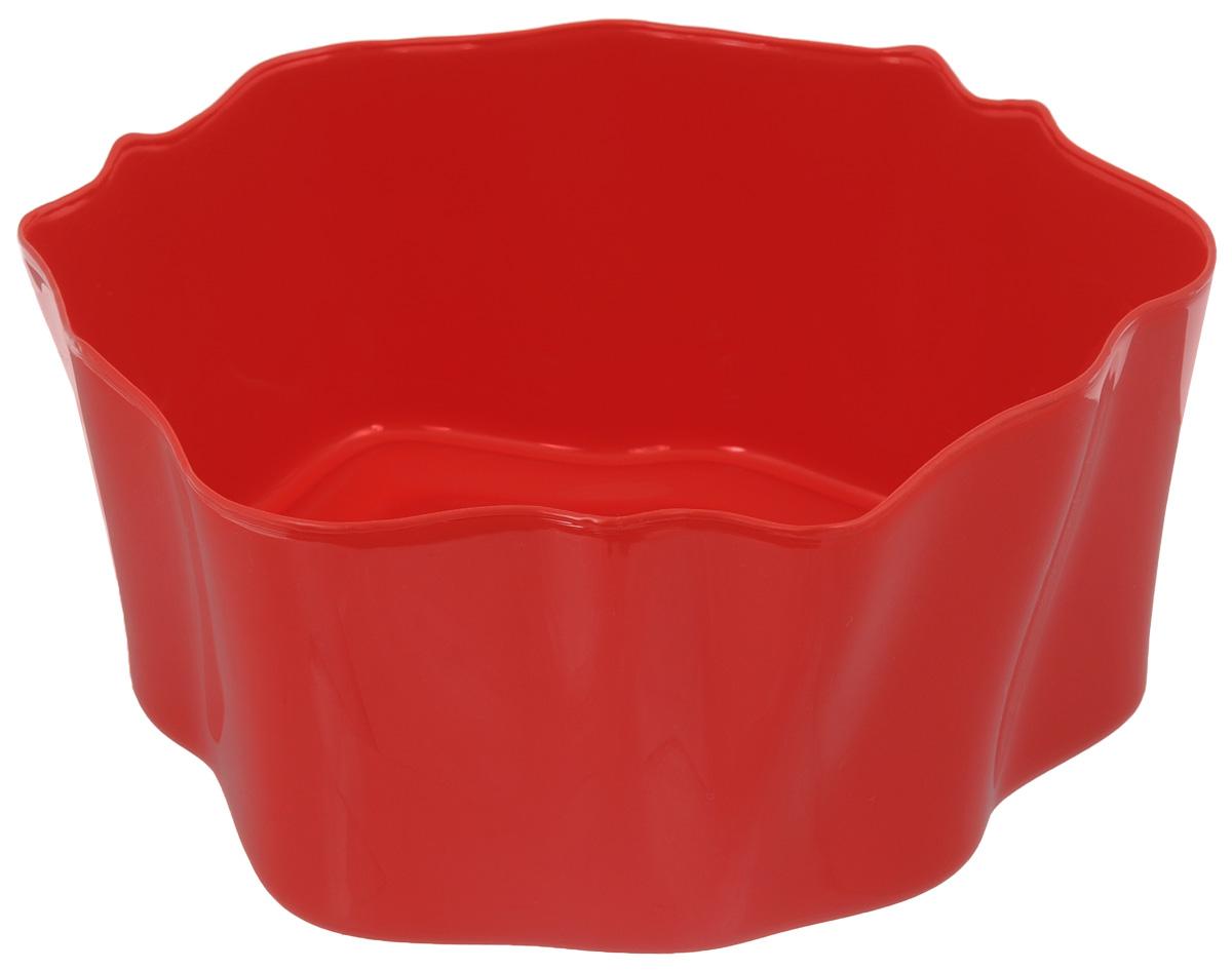 Органайзер Qualy Flow, цвет: красный, 25,5 х 25,5 х 11,5 смQL10143-RDОрганайзер Qualy Flow может пригодиться на кухне, в ванной, в гостиной, на даче, на природе, в городе, в деревне. В него можно складывать фрукты, овощи, хлеб, кухонные приборы и аксессуары, всевозможные баночки, можно использовать органайзер как мусорную корзину, вазу. Все зависит от вашей фантазии и от хозяйственных потребностей! Пластиковый оригинальный органайзер пригодится везде!