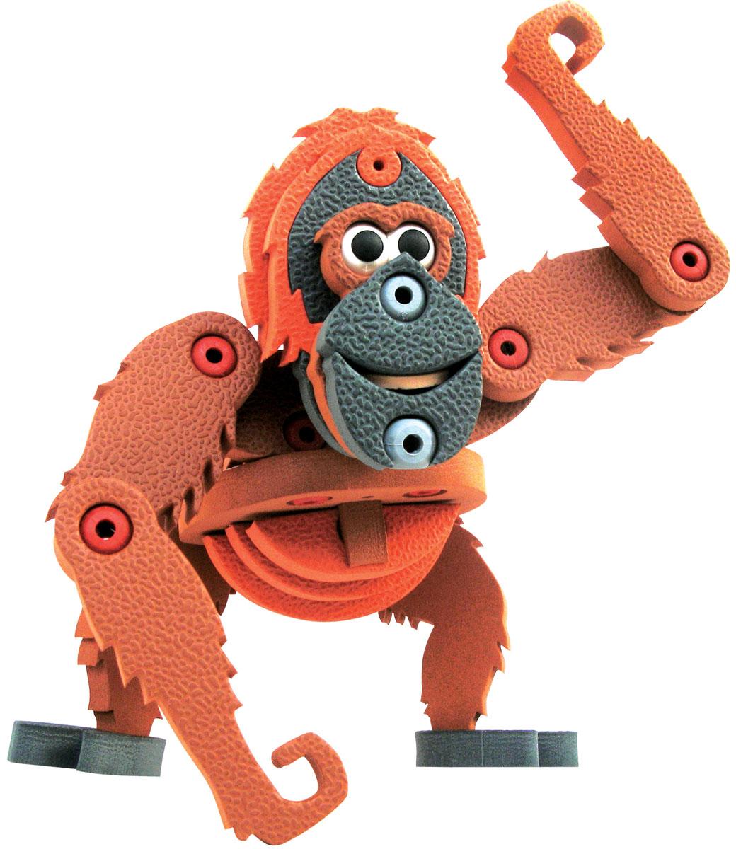 Bebelot 3D мягкий конструктор ОрангутангBEB0706-001Мягкий 3D конструктор Bebelot поможет вашему малышу собрать фигурку тигра, который будет так похож на настоящего! Во время игры у ребёнка развивается мелкая моторика, усидчивость, внимание и память. Конструктор изготовлен из экологически чистого и безопасного материала EVA
