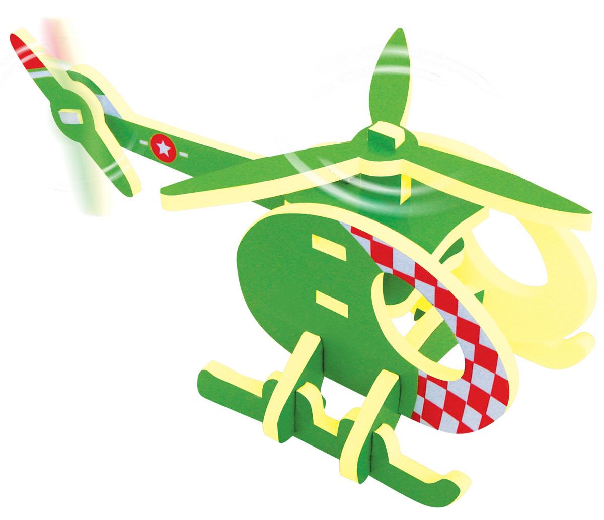 Bebelot 3D мягкий конструктор ВертолетBEB0706-006Мягкий 3D конструктор Bebelot Вертолет привлечет внимание вашего ребенка и не позволит ему скучать. Конструктор состоит из 13 деталей, собрав которые, ребенок получит великолепный вертолет. Размер составных элементов конструктора очень удобен для того, чтобы ребенку было комфортно в него играть. Собирая конструктор, ребенок разовьет внимание, воображение, мелкую моторику рук, пространственное и логическое мышление, а собранная своими руками игрушка будет для него гораздо дороже, чем готовая - ведь он вложил в нее свой драгоценный труд.