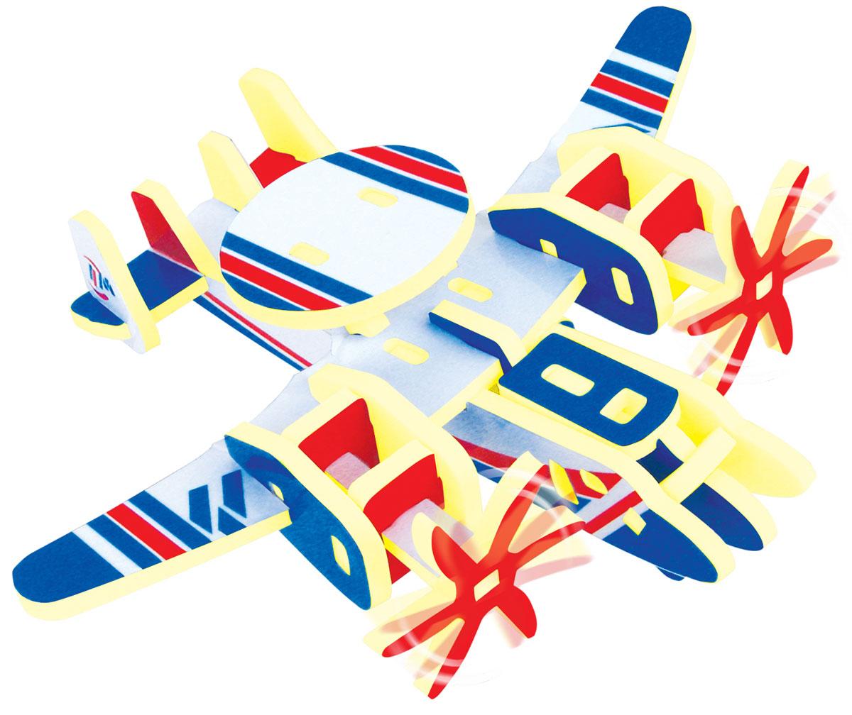 Bebelot 3D мягкий конструктор Самолет-разведчикBEB0706-009Мягкий 3D конструктор Bebelot поможет вашему малышу собрать фигурку тигра, который будет так похож на настоящего! Во время игры у ребёнка развивается мелкая моторика, усидчивость, внимание и память. Конструктор изготовлен из экологически чистого и безопасного материала EVA