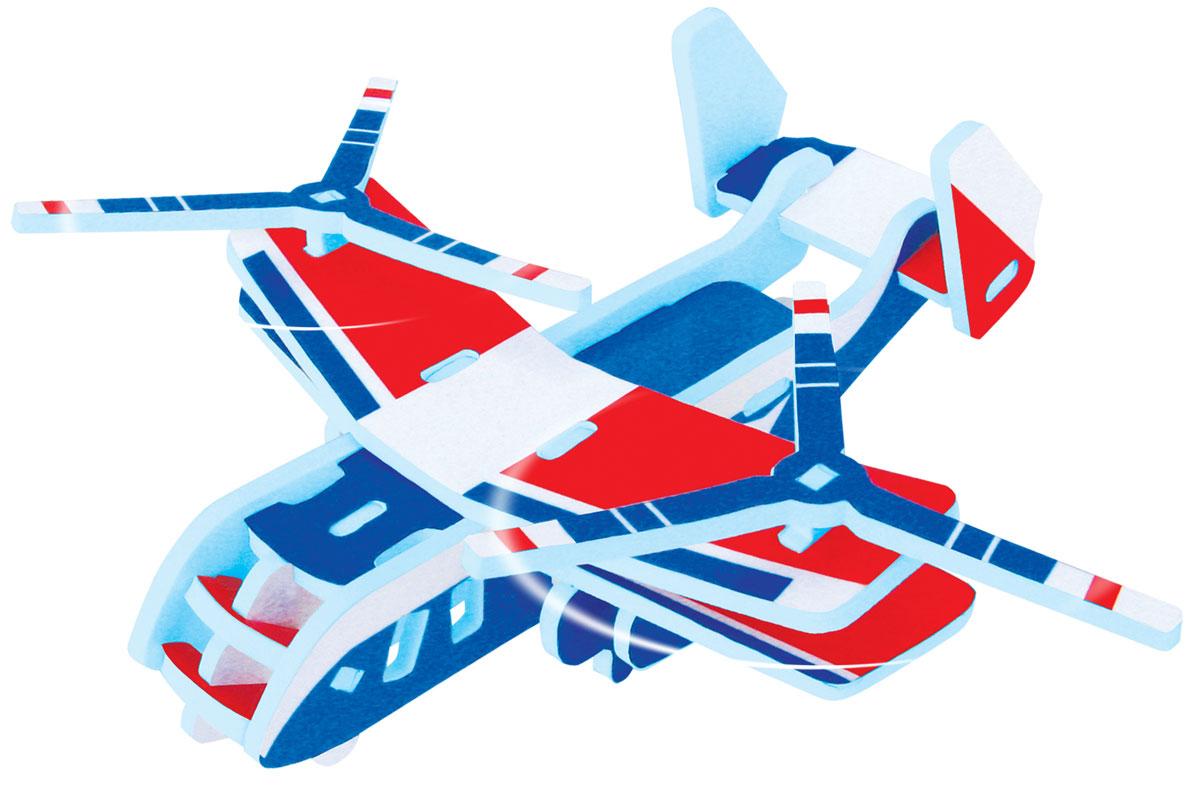 Bebelot 3D мягкий конструктор Грузовой вертолетBEB0706-011Мягкий 3D конструктор Bebelot Грузовой вертолет привлечет внимание вашего ребенка и не позволит ему скучать. Конструктор состоит из 22 деталей, собрав которые, ребенок получит вертолет. Размер составных элементов конструктора очень удобен для того, чтобы ребенку было комфортно в него играть. Собирая конструктор, ребенок разовьет внимание, воображение, мелкую моторику рук, пространственное и логическое мышление, а собранная своими руками игрушка будет для него гораздо дороже, чем готовая - ведь он вложил в нее свой драгоценный труд.