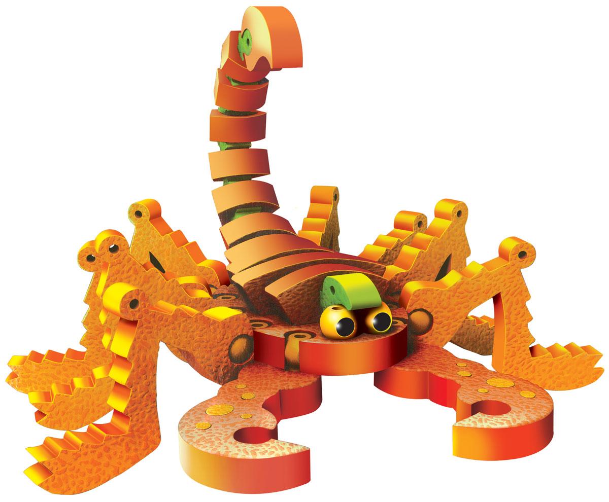 Bebelot 3D мягкий конструктор НасекомыеBEB0706-013Мягкий конструктор Bebelot Насекомые привлечет внимание вашего ребенка и не позволит ему скучать. Конструктор состоит из 162 деталей, из которых ребенок сможет собрать 16 видов насекомых. Разноцветные детали с легкостью надежно крепятся друг к другу за счет специальных крепежей и выступов. Размер составных элементов конструктора очень удобен для того, чтобы ребенку было комфортно в него играть. Собирая конструктор, ребенок разовьет внимание, воображение, мелкую моторику рук, пространственное и логическое мышление, а собранная своими руками игрушка будет для него гораздо дороже, чем готовая - ведь он вложил в нее свой драгоценный труд.