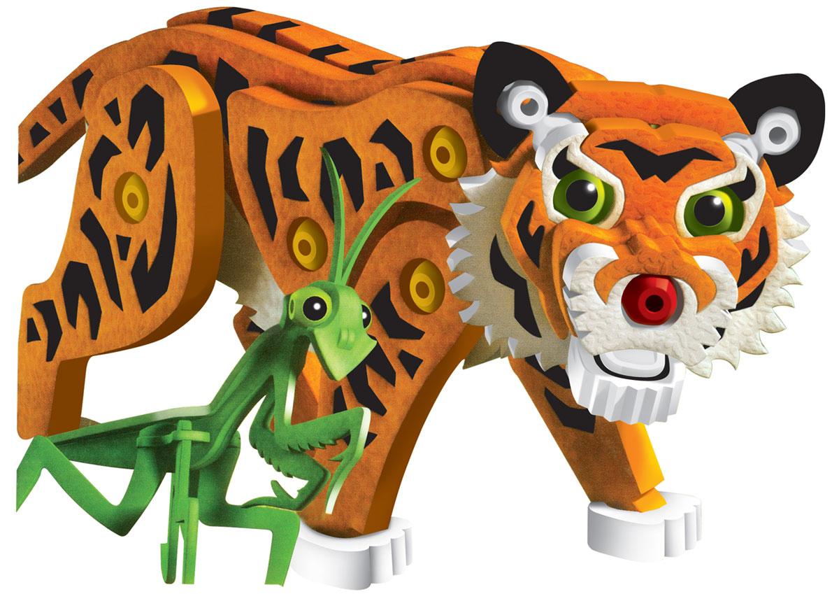 Bebelot 3D мягкий конструктор Тигр и пандаBEB0706-019Мягкий конструктор Bebelot Тигр и панда привлечет внимание вашего ребенка и не позволит ему скучать. Конструктор состоит из 237 деталей, собрав которые, ребенок получит объемных зверей в виде тигра и панды. Разноцветные детали с легкостью надежно крепятся друг к другу за счет специальных крепежей и выступов. Размер составных элементов конструктора очень удобен для того, чтобы ребенку было комфортно в него играть. Собирая конструктор, ребенок разовьет внимание, воображение, мелкую моторику рук, пространственное и логическое мышление, а собранная своими руками игрушка будет для него гораздо дороже, чем готовая - ведь он вложил в нее свой драгоценный труд.