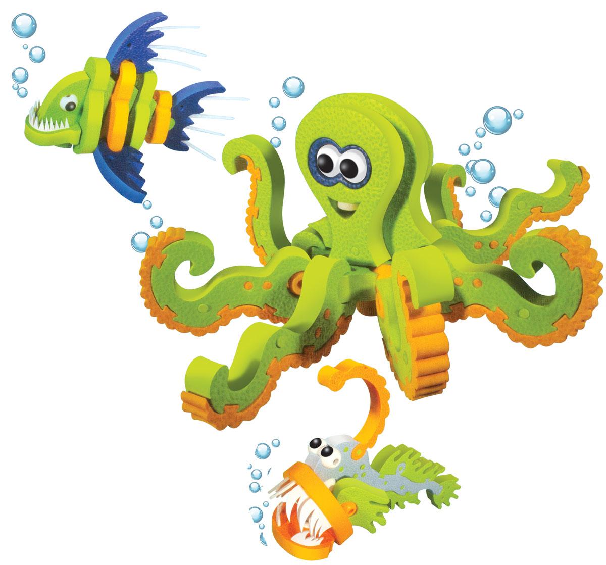 Bebelot 3D мягкий конструктор Морские обитателиBEB0706-020Мягкий 3D конструктор Bebelot поможет вашему малышу собрать фигурку тигра, который будет так похож на настоящего! Во время игры у ребёнка развивается мелкая моторика, усидчивость, внимание и память. Конструктор изготовлен из экологически чистого и безопасного материала EVA