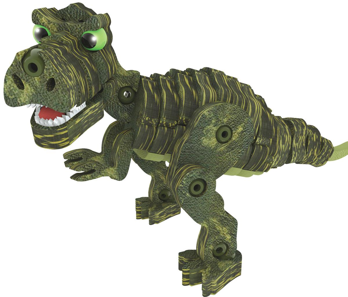 Bebelot 3D мягкий конструктор ДинозаврыBEB0706-021Мягкий 3D конструктор Bebelot поможет вашему малышу собрать фигурку тигра, который будет так похож на настоящего! Во время игры у ребёнка развивается мелкая моторика, усидчивость, внимание и память. Конструктор изготовлен из экологически чистого и безопасного материала EVA